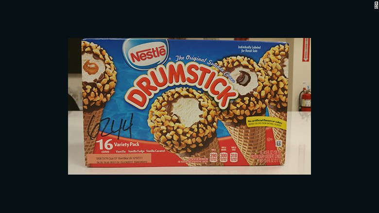 Nestle has announced a voluntary recall of its Drumstick ice cream cone products.