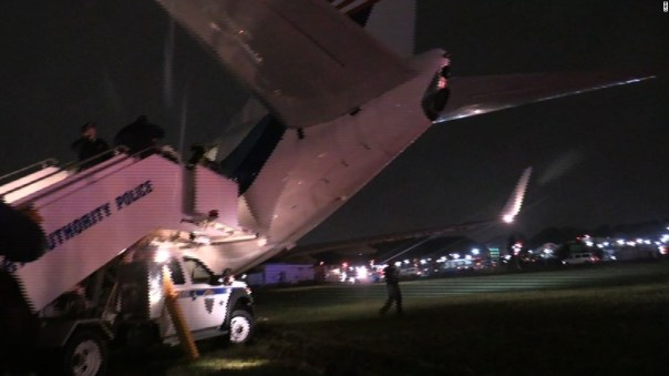 Image result for mike pence plane skids off runway