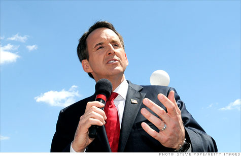 Pawlenty (that part which is above the swamp water)