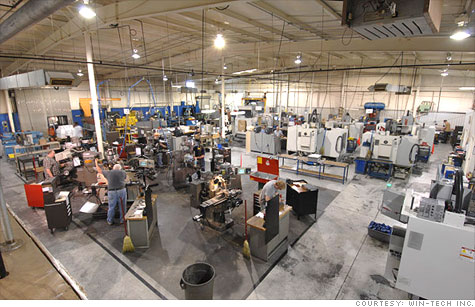 U.S. factories are enjoying a pickup in business and jobs are available.  But many are facing a perplexing situation -- a dearth of skilled manufacturing workers in America.