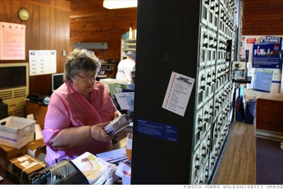 The U.S. Postal Service will default on Wednesday on a $5.5 billion payment owed to the federal government, unless Congress acts.
