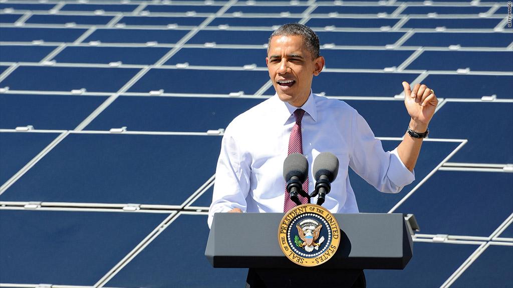 barack obama solar energy