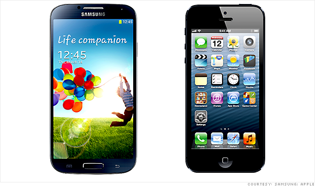Samsung supera a Apple en el mercado estadounidense