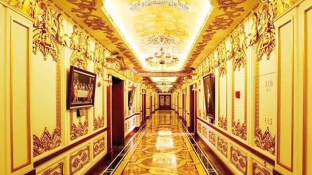 China's extravagant government buildings