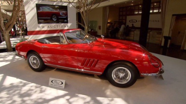 Sold! Up close with a $27m Ferrari