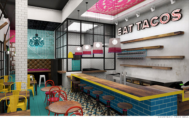 taco bell new look