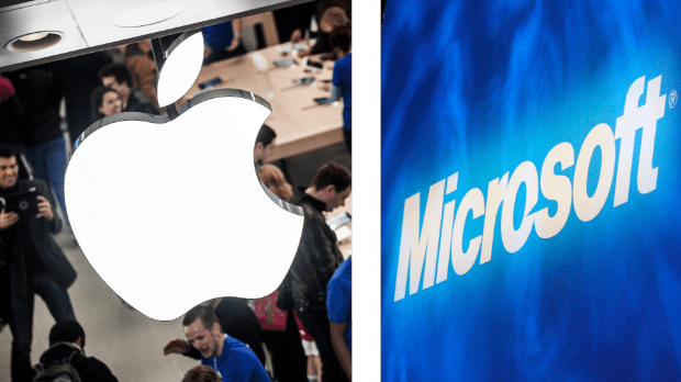 Apple & Microsoft: Both kicking butt