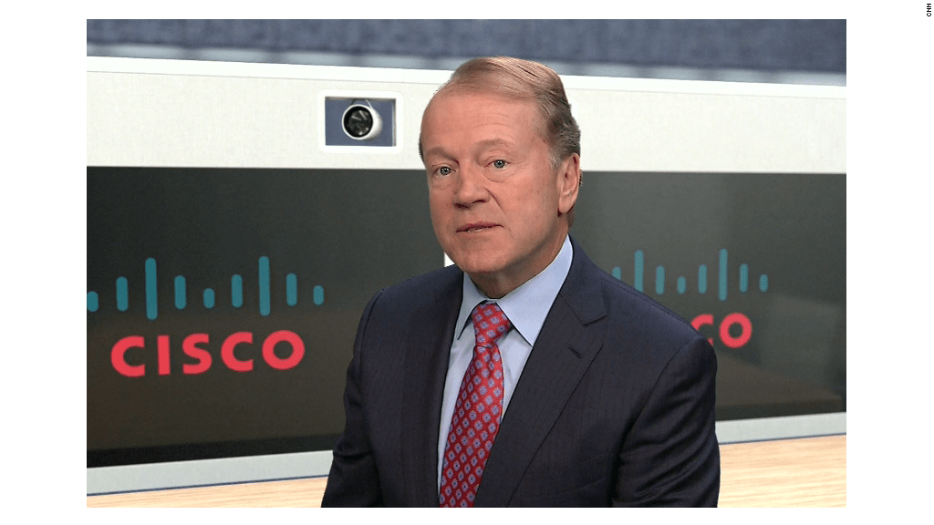 Cisco CEO critical of net neutrality
