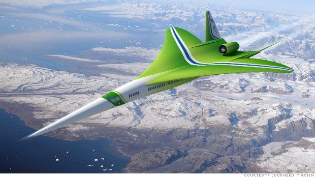Lockheed supersonic jet