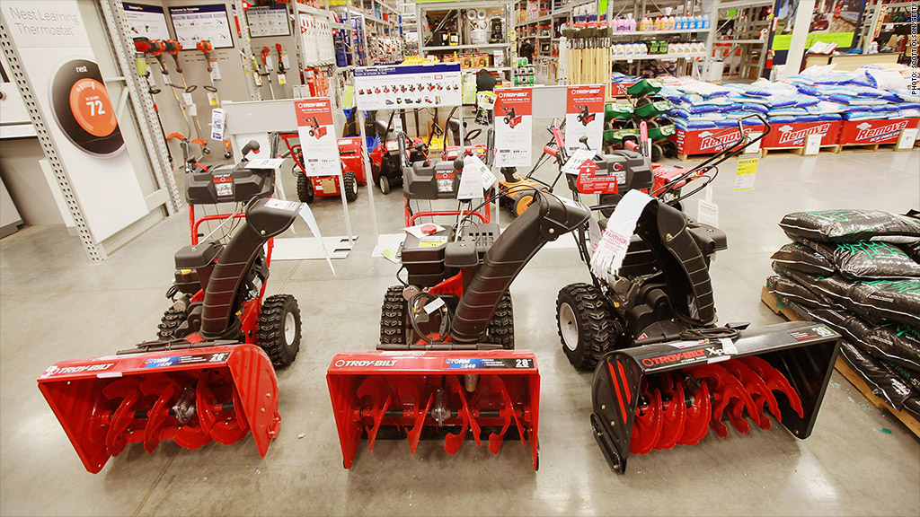 Black Friday Deals Shoppers Are Searching For Snowblowers