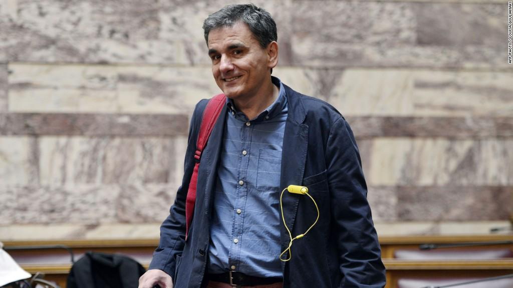 Meet Greece's new finance minister