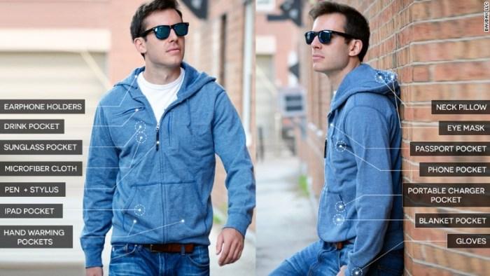 baubax jacket features