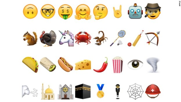 Emoji za mpya katika android OS