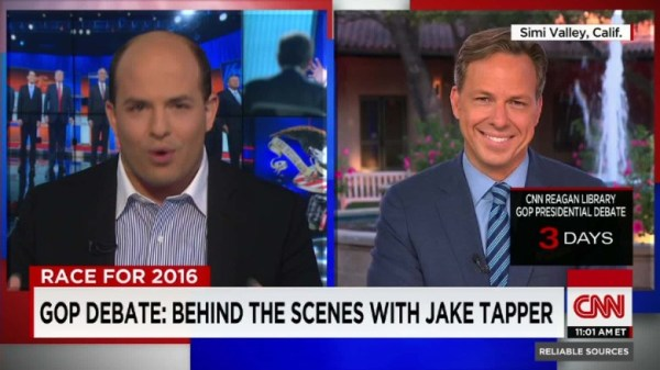 Jake Tapper on GOP field: Let's get them to 'actually debate'