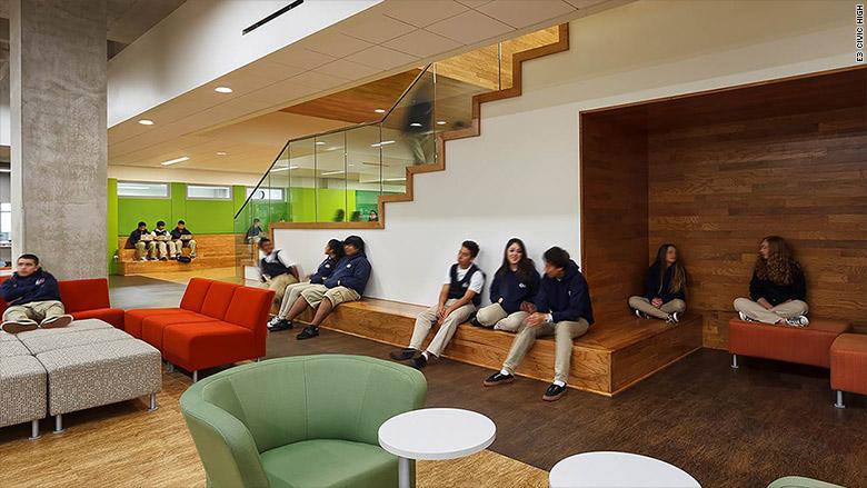 Conoce las escuelas m s innovadoras de estados unidos cnn for Arquitectura de interiores universidades