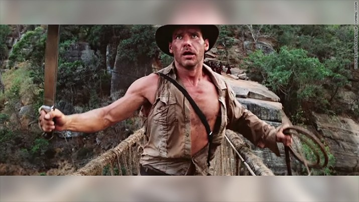 indiana jones clip