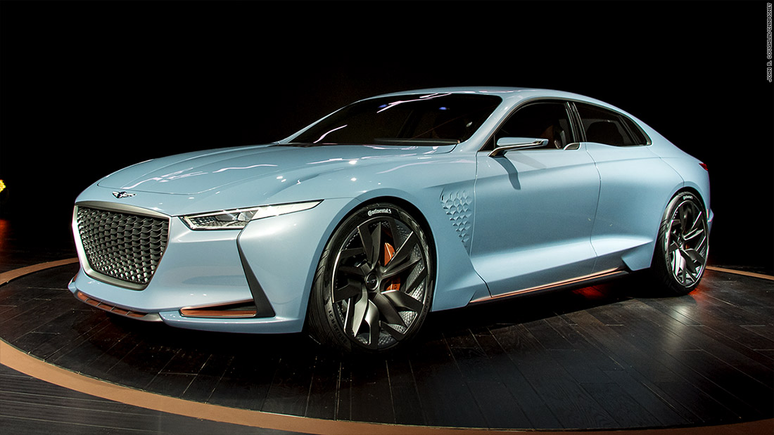 Hyundai Genesis New York Concept Cool Cars From The New