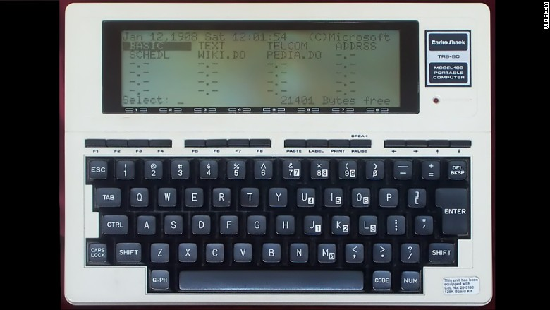 Tandy Trs 80 Model 100