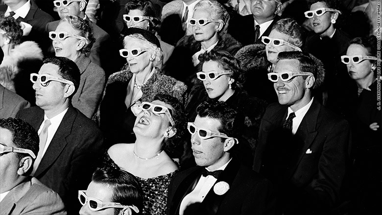 Image result for images of 3D movie glasses