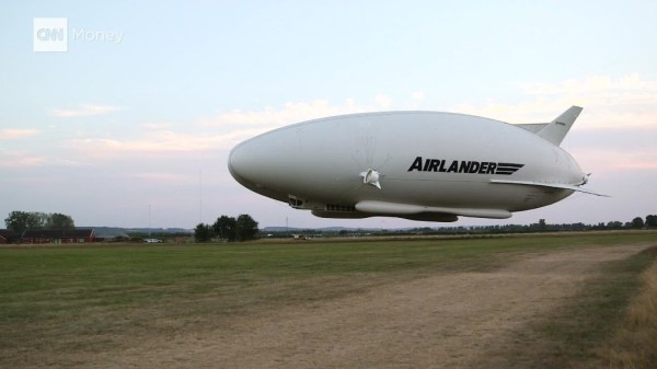 Airlander 10: World's largest aircraft completes its first ...