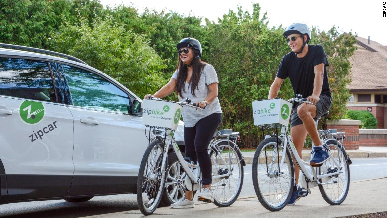 zipcar bikeshare bike