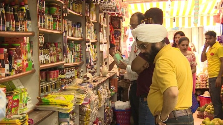 Startup's target market: India's mom and pop shops