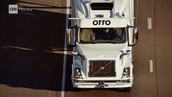 Self-driving truck makes first shipment: 50,000 cans of beer