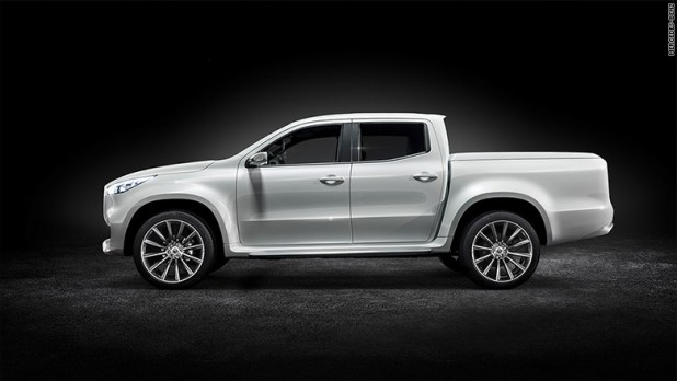 mercedes benz pickup profile