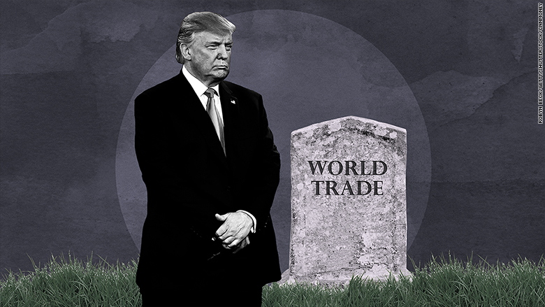 Image result for global trade under trump