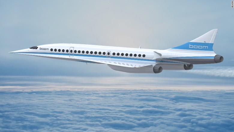 supersonic plane boom