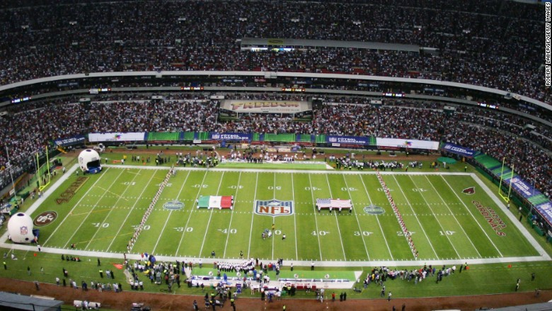 Nfl Heads To Mexico To Attract Hispanic Fans
