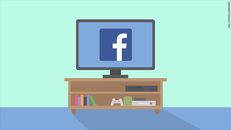Image result for FACEBOOK TV