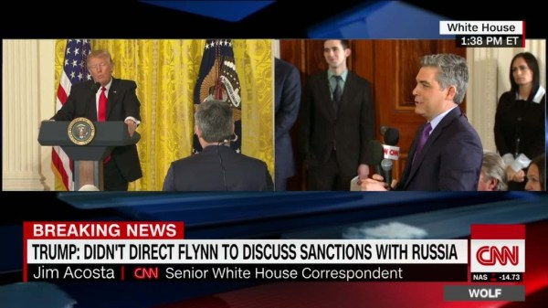 Transcript: President Trump's exchange with CNN's Jim ...