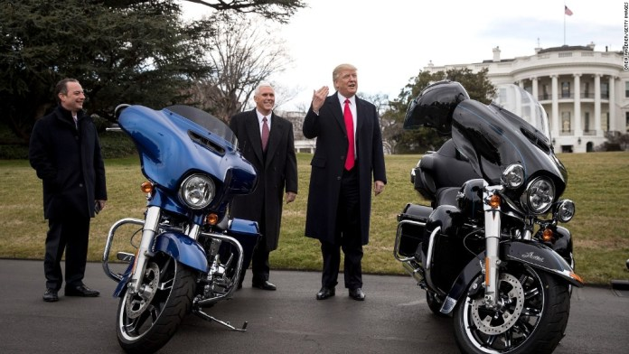 Trump's tariffs backfire on Harley-Davidson