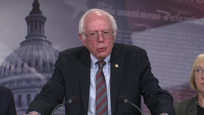 Sanders: Lack of paid family leave in U.S. is 'international disgrace'
