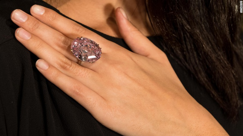 Rare Pink Star Diamond Sells For Record 712 Million At