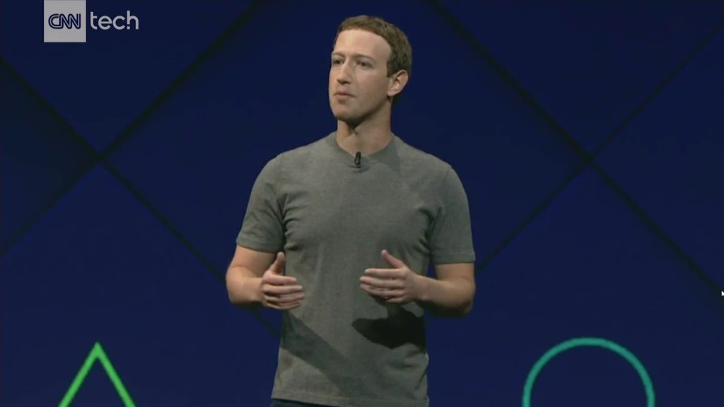 Image result for Mark Zuckerberg makes cursory mention of Facebook murder video at F8