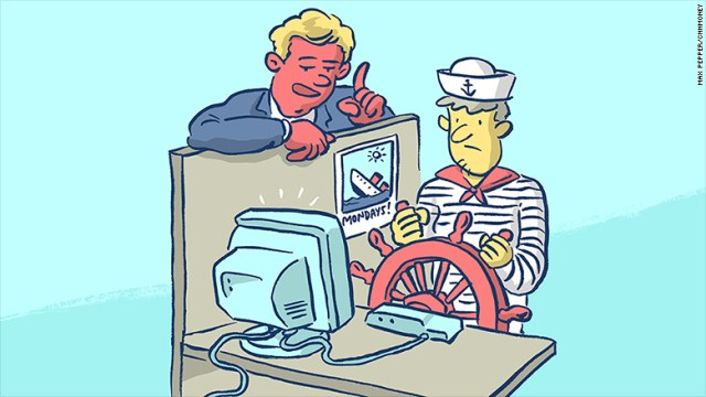 sailor desk job