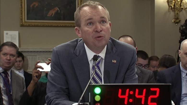 Mulvaney: Trump wants to protect entitlements