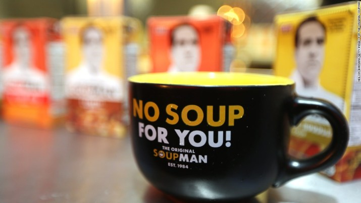 'Soup Nazi' company files for bankruptcy