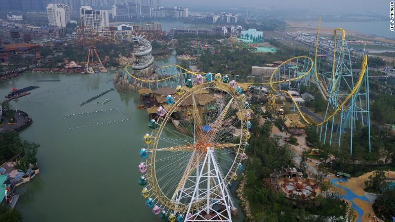 China Wanda theme park