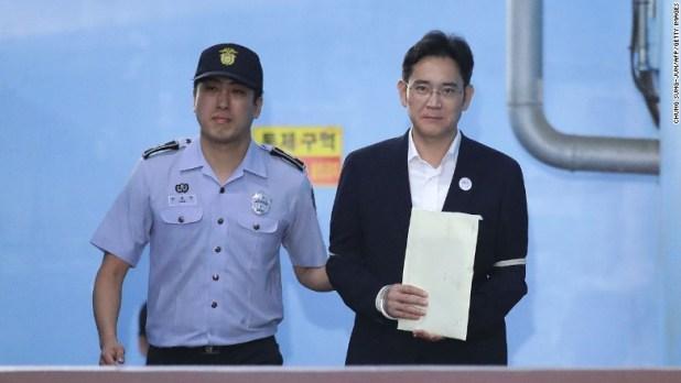 Samsung Group heir Lee Jae-yong Seoul Central District Court