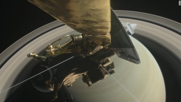 NASA retired Cassini, by crashing it into Saturn - Video ...