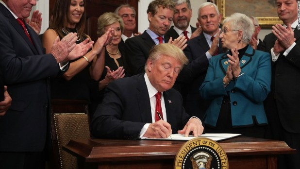Here's what's in Trump's executive order on health care