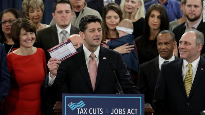 What's in the GOP proposed tax plan