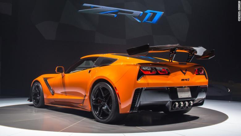 2019 chevrolet corvette zr1 rear