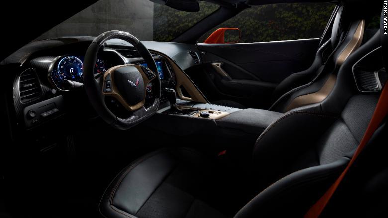 2019 chevrolet corvette zr1 interior