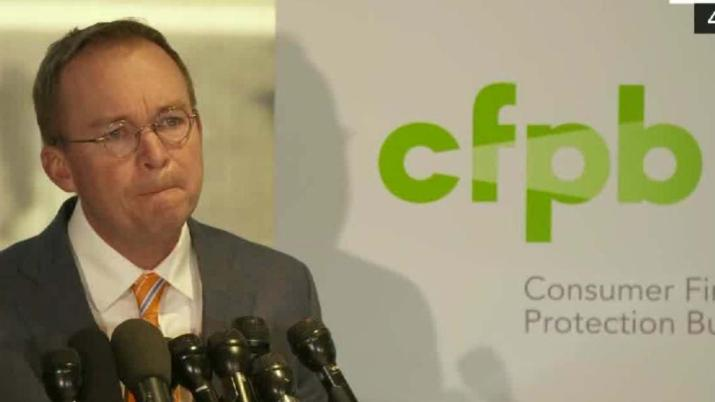 Mulvaney defends role at CFPB, promises changes