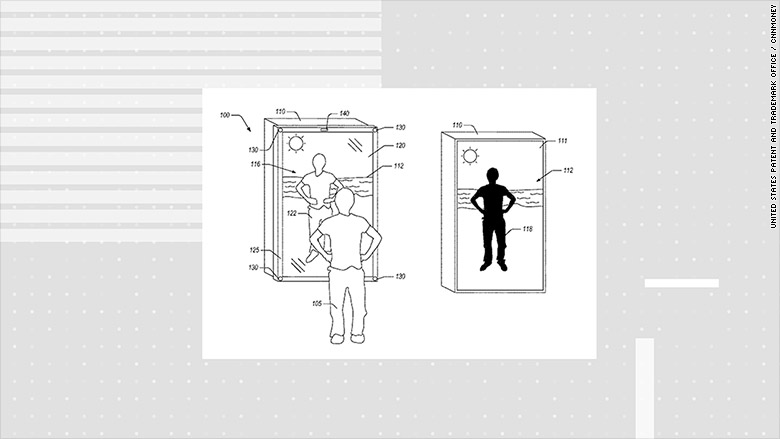 amazon mirror patent