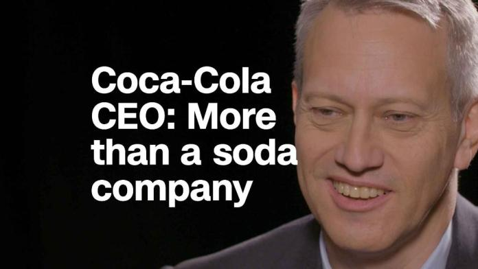 Coca-Cola CEO: 'We try to be more than a soda company'